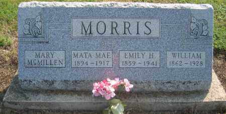 MORRIS, MARY MCMILLEN - Union County, Ohio | MARY MCMILLEN MORRIS - Ohio Gravestone Photos