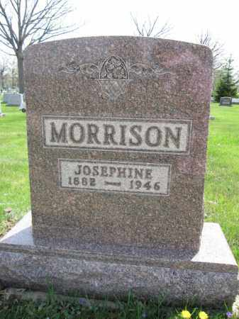 MORRISON, JOSEPHINE - Union County, Ohio | JOSEPHINE MORRISON - Ohio Gravestone Photos