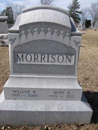 MORRISON, MARY K. - Union County, Ohio | MARY K. MORRISON - Ohio Gravestone Photos