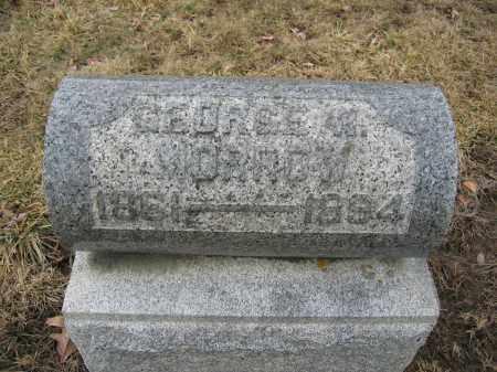 MORROW, GEORGE W. - Union County, Ohio | GEORGE W. MORROW - Ohio Gravestone Photos