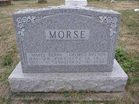 MORSE, GEORGE NELSON - Union County, Ohio | GEORGE NELSON MORSE - Ohio Gravestone Photos