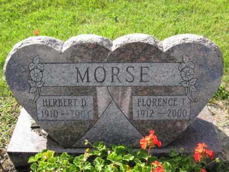 MORSE, HERBERT D. - Union County, Ohio   HERBERT D. MORSE - Ohio Gravestone Photos