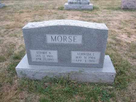 MORSE, VERNEDA L. - Union County, Ohio   VERNEDA L. MORSE - Ohio Gravestone Photos