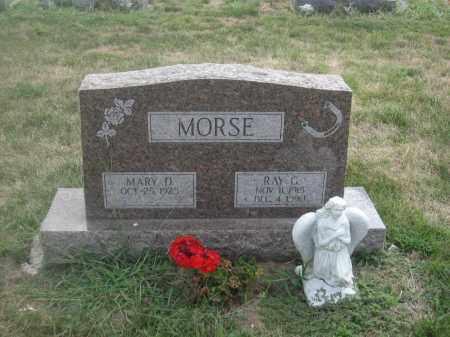 MORSE, RAY G. - Union County, Ohio | RAY G. MORSE - Ohio Gravestone Photos