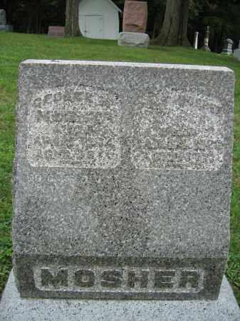 MOSHER, GEORGE - Union County, Ohio | GEORGE MOSHER - Ohio Gravestone Photos