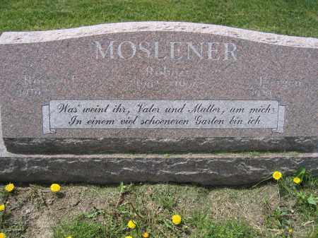 MOSLENER, ROBERT - Union County, Ohio | ROBERT MOSLENER - Ohio Gravestone Photos