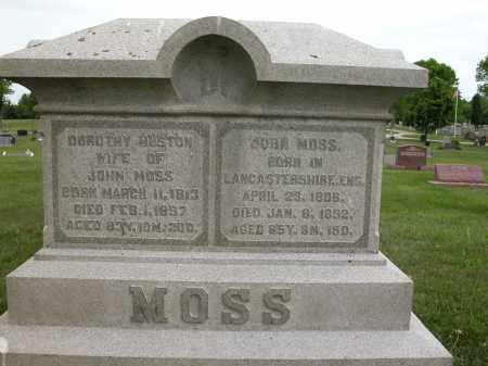 MOSS, DOROTHY HUSTON - Union County, Ohio | DOROTHY HUSTON MOSS - Ohio Gravestone Photos