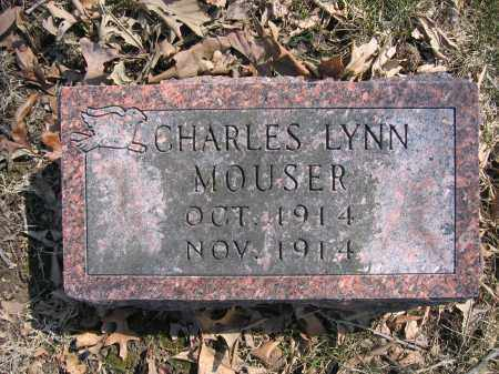 MOUSER, CHARLES LYNN - Union County, Ohio | CHARLES LYNN MOUSER - Ohio Gravestone Photos