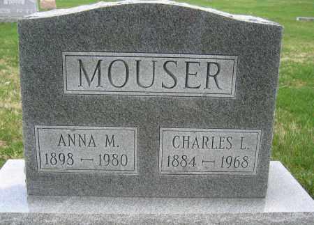 MOUSER, CHARLES L. - Union County, Ohio | CHARLES L. MOUSER - Ohio Gravestone Photos