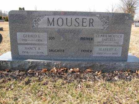 MOUSER, NANCY A. - Union County, Ohio | NANCY A. MOUSER - Ohio Gravestone Photos