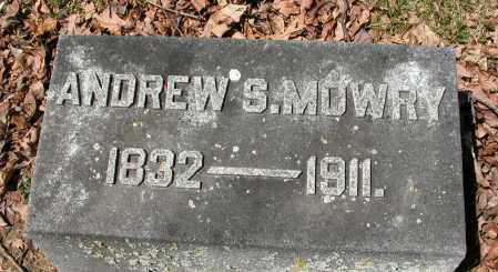 MOWRY, ANDREW S. - Union County, Ohio | ANDREW S. MOWRY - Ohio Gravestone Photos