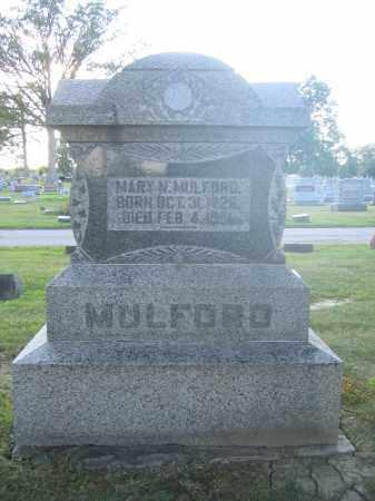 MULFORD, MARY N. - Union County, Ohio | MARY N. MULFORD - Ohio Gravestone Photos