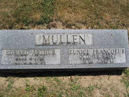 MULLEN, EDWARD ARTHUR - Union County, Ohio | EDWARD ARTHUR MULLEN - Ohio Gravestone Photos