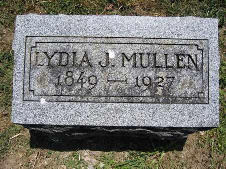 MULLEN, LYDIA J. - Union County, Ohio   LYDIA J. MULLEN - Ohio Gravestone Photos