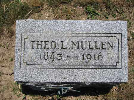MULLEN, THEO L. - Union County, Ohio | THEO L. MULLEN - Ohio Gravestone Photos