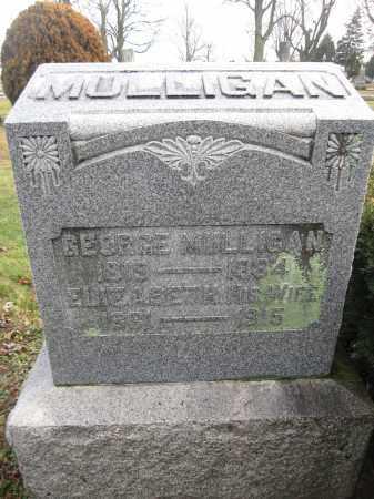 MULLIGAN, GEORGE JAMES - Union County, Ohio | GEORGE JAMES MULLIGAN - Ohio Gravestone Photos