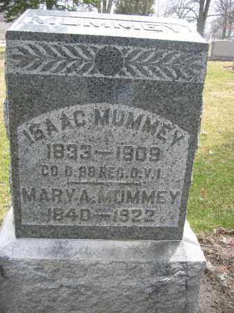 MUMMEY, ISAAC - Union County, Ohio | ISAAC MUMMEY - Ohio Gravestone Photos