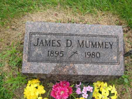 MUMMEY, JAMES D. - Union County, Ohio   JAMES D. MUMMEY - Ohio Gravestone Photos
