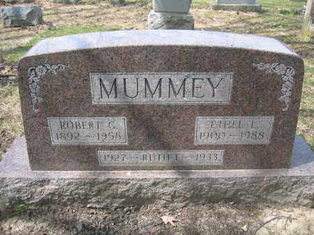 MUMMEY, ROBERT G. - Union County, Ohio | ROBERT G. MUMMEY - Ohio Gravestone Photos