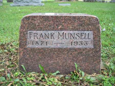 MUNSELL, FRANK - Union County, Ohio | FRANK MUNSELL - Ohio Gravestone Photos