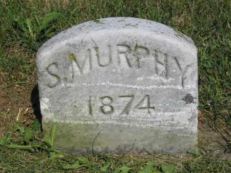 MURPHY, S. - Union County, Ohio   S. MURPHY - Ohio Gravestone Photos