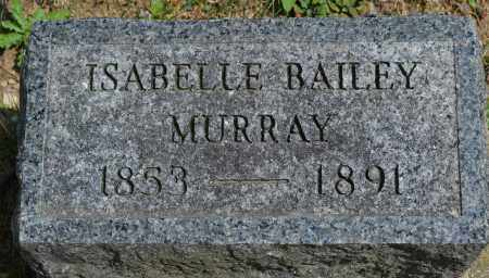 MURRAY, ISABELLE BAILEY - Union County, Ohio | ISABELLE BAILEY MURRAY - Ohio Gravestone Photos