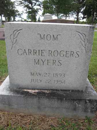 MYERS, CARRIE ROGERS - Union County, Ohio | CARRIE ROGERS MYERS - Ohio Gravestone Photos