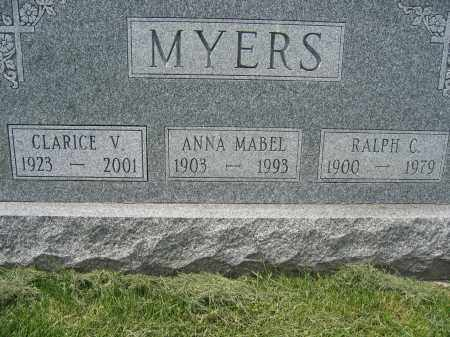 MYERS, RALPH C - Union County, Ohio   RALPH C MYERS - Ohio Gravestone Photos
