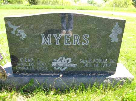 MYERS, CARL L. - Union County, Ohio | CARL L. MYERS - Ohio Gravestone Photos