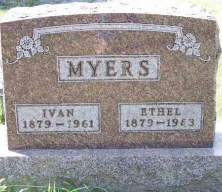 MYERS, ETHEL - Union County, Ohio   ETHEL MYERS - Ohio Gravestone Photos