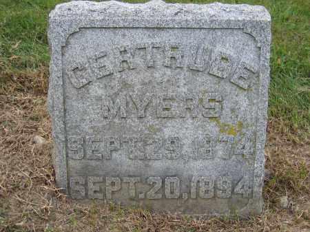 MYERS, GERTRUDE - Union County, Ohio | GERTRUDE MYERS - Ohio Gravestone Photos
