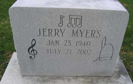 MYERS, JERRY - Union County, Ohio | JERRY MYERS - Ohio Gravestone Photos