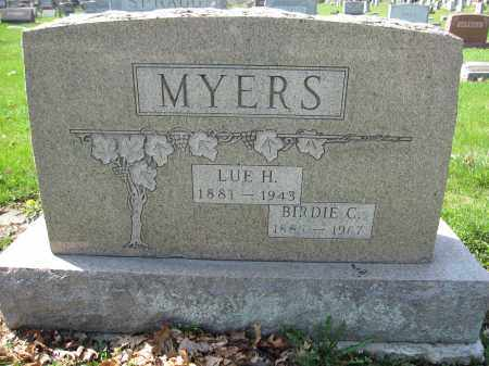 MYERS, BIRDIE C. - Union County, Ohio | BIRDIE C. MYERS - Ohio Gravestone Photos