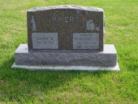 "MYERS, MARGARET L. ""MAGGIE"" - Union County, Ohio | MARGARET L. ""MAGGIE"" MYERS - Ohio Gravestone Photos"