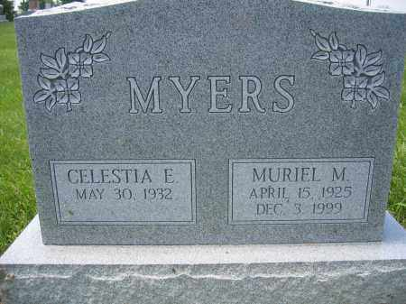 MYERS, MURIEL M. MYERS - Union County, Ohio | MURIEL M. MYERS MYERS - Ohio Gravestone Photos