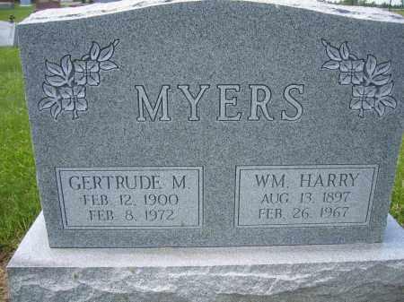 MYERS, WILLIAM HARRY - Union County, Ohio | WILLIAM HARRY MYERS - Ohio Gravestone Photos