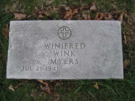 MYERS, WINIFRED - Union County, Ohio | WINIFRED MYERS - Ohio Gravestone Photos