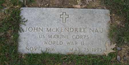 NAU, JOHN MCKENDREE - Union County, Ohio   JOHN MCKENDREE NAU - Ohio Gravestone Photos