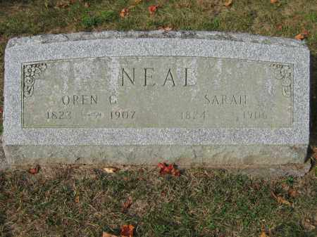 NEAL, SARAH - Union County, Ohio | SARAH NEAL - Ohio Gravestone Photos