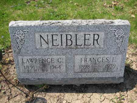NEIBLER, FRANCES L. - Union County, Ohio | FRANCES L. NEIBLER - Ohio Gravestone Photos