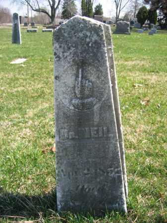 NEIL, DR. - Union County, Ohio   DR. NEIL - Ohio Gravestone Photos