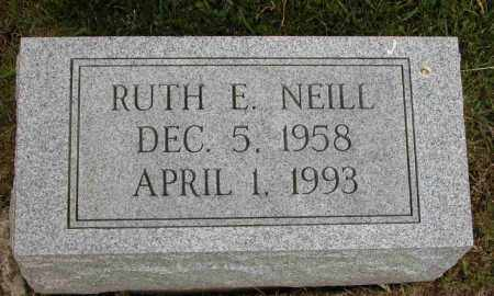 NEILL, RUTH E. - Union County, Ohio | RUTH E. NEILL - Ohio Gravestone Photos