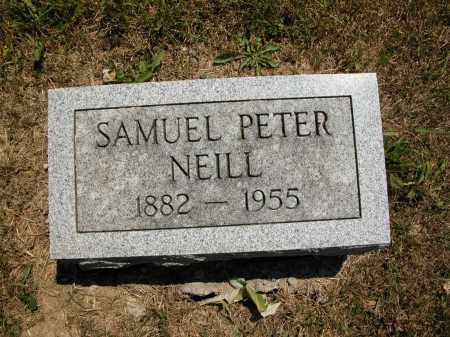 NEILL, SAMUEL PETER - Union County, Ohio | SAMUEL PETER NEILL - Ohio Gravestone Photos