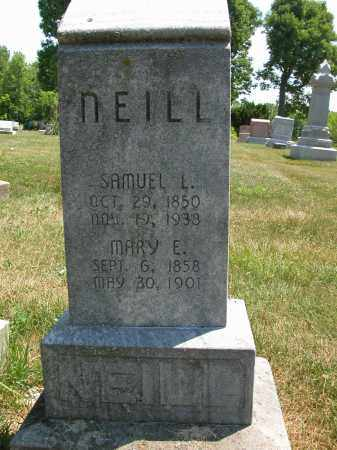 NEILL, SAMUEL L. - Union County, Ohio | SAMUEL L. NEILL - Ohio Gravestone Photos