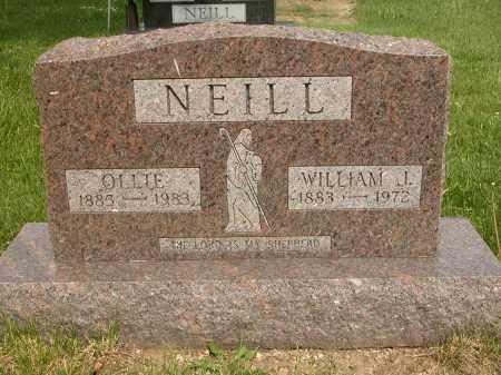 NEILL, OLLIE - Union County, Ohio | OLLIE NEILL - Ohio Gravestone Photos