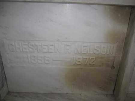 NELSON, CHESTEEN F. - Union County, Ohio | CHESTEEN F. NELSON - Ohio Gravestone Photos