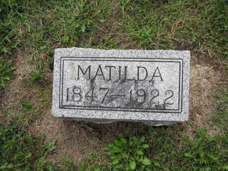 NEWHOUSE, MATILDA PHILEN - Union County, Ohio | MATILDA PHILEN NEWHOUSE - Ohio Gravestone Photos