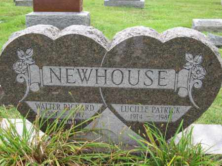 NEWHOUSE, WALTER RICHARD - Union County, Ohio | WALTER RICHARD NEWHOUSE - Ohio Gravestone Photos