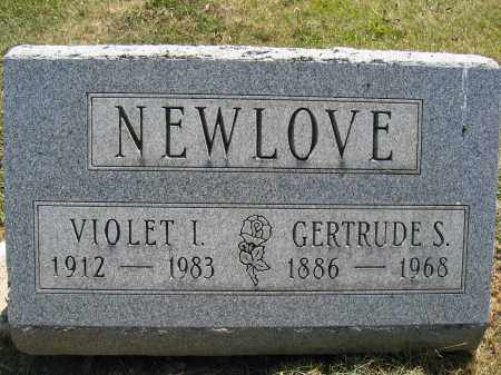 NEWLOVE, GERTRUDE S. - Union County, Ohio | GERTRUDE S. NEWLOVE - Ohio Gravestone Photos