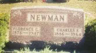 NEWMAN, CHARLES FRANKLIN - Union County, Ohio | CHARLES FRANKLIN NEWMAN - Ohio Gravestone Photos